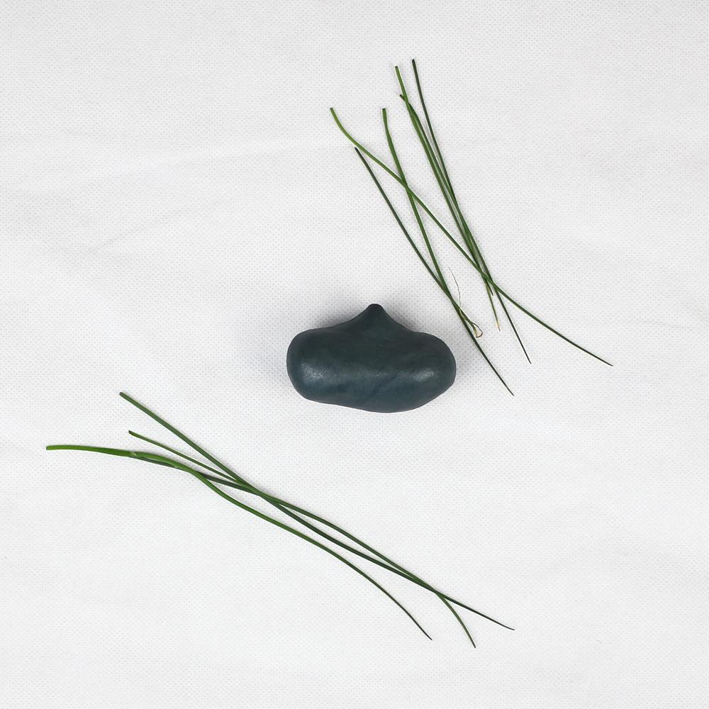 Vasenform kneten